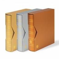 Classeur simili cuir NUMIS édition spéciale, vide, avec étui de protection
