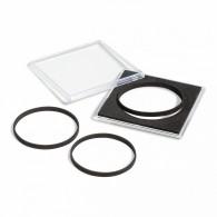 Capsule de protection carrée pour géocoin - Taille variable 42 à 58mm