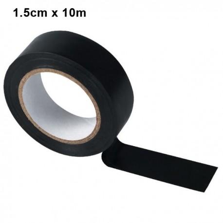 Ruban adhésif 1.5cm x 10m - Noir