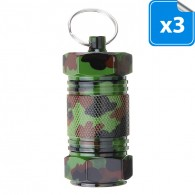 Big Micro Screw Container Camouflage - Lot de 3