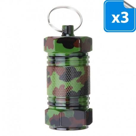 Big Micro Screw Container Camouflage - Lot de 3