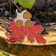 Fall Leaf Geocoin