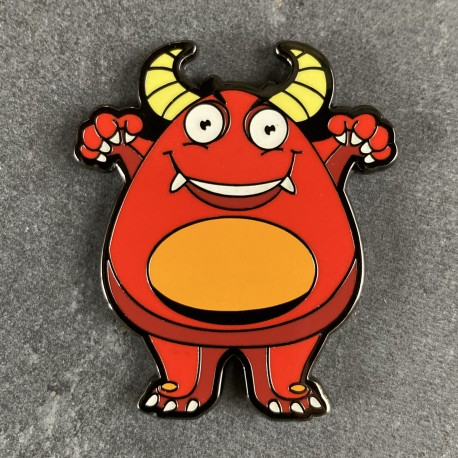 Boo the Monster Geocoin - DIABLO Limited Edition