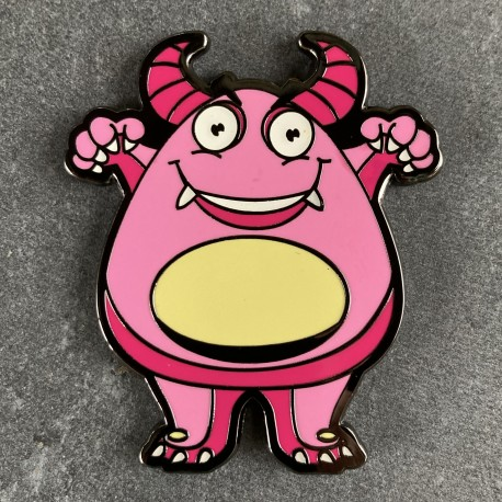 Boo the Monster Geocoin - GIRLY Limited Edition