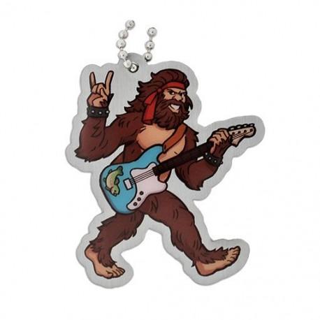 Gary the Bigfoot Travel Tag