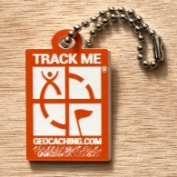 Travel Logo Geocaching - Orange