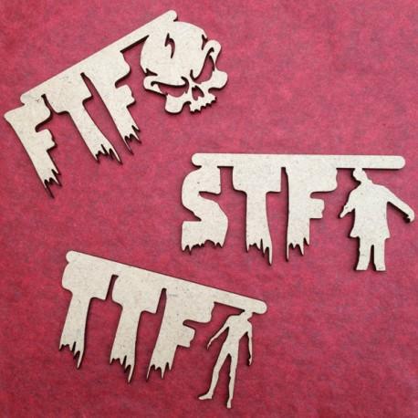 """Pièces en bois - FTF, STF, TTF """"Zombie"""""""