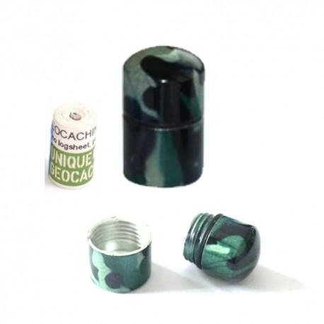 Nano Cache aimantée Camouflage - Green Dark