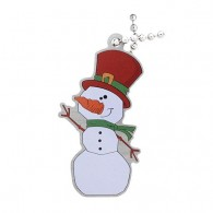 Festive Collection - Slushy the Snowman Travel Tag