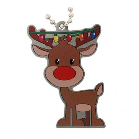 Festive Collection - Reindeer Travel Tag