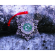 Snowflake Ornament Geocoin - Celebrating 20 Years of Geocaching