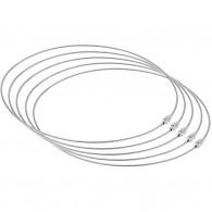 Câble acier à visser 46cm - Lot de 5