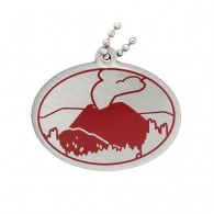Natural Wonders of the World Trackable Tag - Parícutin Volcano
