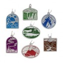 Natural Wonders of the World Travel Tag Set - All 7 Tags