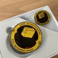 [OOPS] Geo Achievement® 500 Finds + Pin's + Ecrin [A]