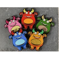 Boo the Monster Geocoins Limited Edition - Série complète