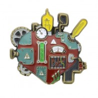 3D Mechanical Heart Geocoin