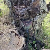 Poche Camouflage pour Geocache