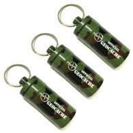"""Micro Cache """"Official Geocache"""" 5cm x3 - Camouflage"""