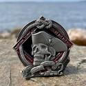 2021 Pirate Geocoin - Courage (Édition Limitée)