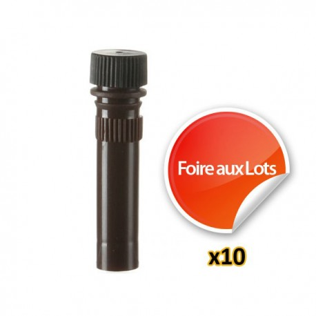 Nano Tube Brun 1,5ml - Lot de 10