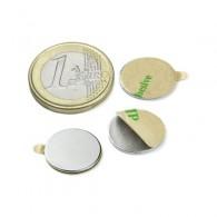 Magnets Disque (autocollant) 15mm - Lot de 5