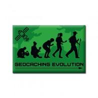 "Badge Rectangle ""GEOCACHING EVOLUTION"""