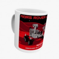 Mug Geocaching - Mars Rover Perseverance Trackable