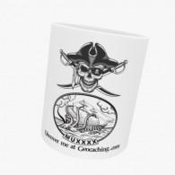 Mug Geocaching - Pirate Trackable