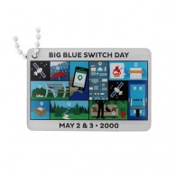 Blue Switch Travel Tag - Before and After