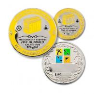 Geo Achievement® 500 Finds + Pin's + Ecrin