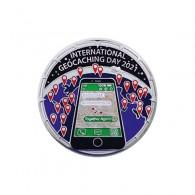 "Badge ""Souvenir"" 2021 International Geocaching Day"