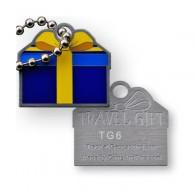 Travel Tag Cadeau - Bleu