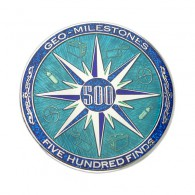 Geo-Milestones Award - 500 Finds