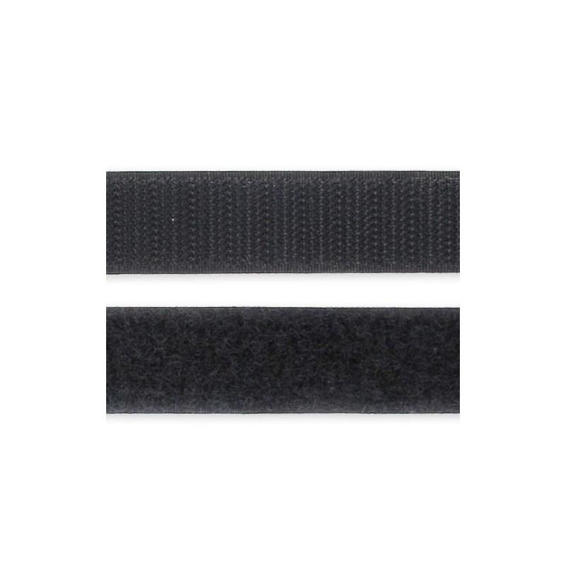 acheter l 39 article bande velcro 50cm noir sur votre. Black Bedroom Furniture Sets. Home Design Ideas