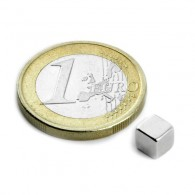Magnets Cube 5mm - Lot de 4