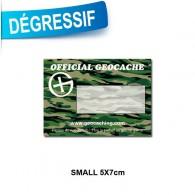 Sticker Geocache Camo Small