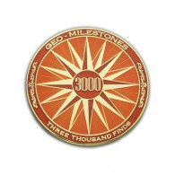 Geo-Milestones Award - 3000 Finds