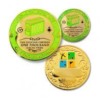 Geo Achievement® 1000 Finds + Pin's + Ecrin