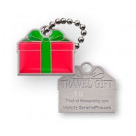 Travel Tag Cadeau - Rouge