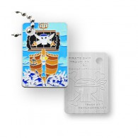 Travel Tag Bateau Pirate
