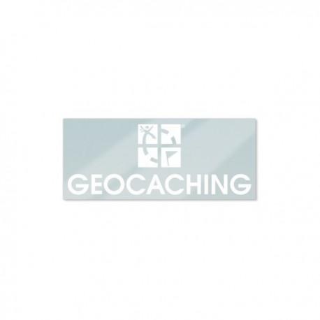 Sticker GEOCACHING Intérieur