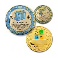 Geo Achievement® 2000 Finds + Pin's + Ecrin