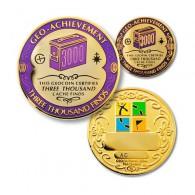 Geo Achievement® 3000 Finds + Pin's + Ecrin