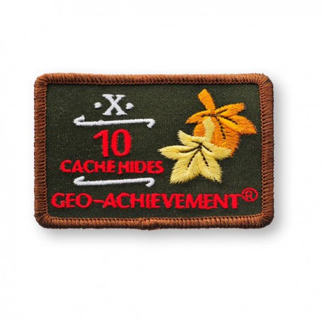 Patch Geo-Achievement® 10 Hides
