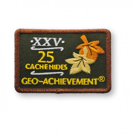 Patch Geo-Achievement® 25 Hides