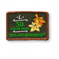 Patch Geo-Achievement® 50 Hides