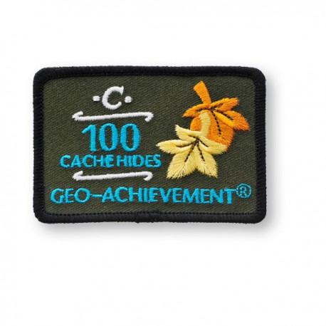Patch Geo-Achievement® 100 Hides