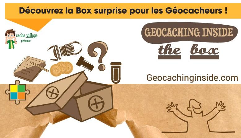 Découvrez la Box surprise pour les Géocacheurs !