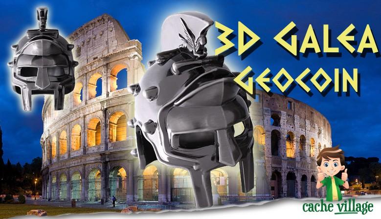 Une nouvelle pièce Collector : découvrez le Galea 3D, une pièce XXL !